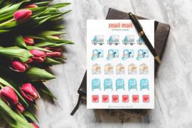 Stickervel Snail Mail