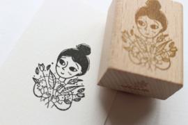 Stempel Flower Girl