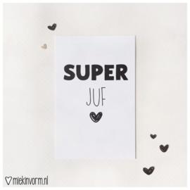 Mini SUPER juf