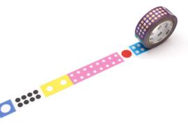 MT washi Kapitza Polka Dot Ice