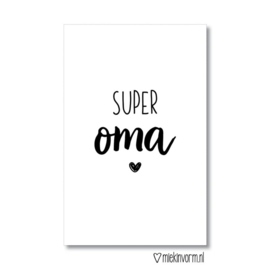 Mini SUPER oma