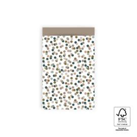 Zakjes M Small Confetti Taupe (10)