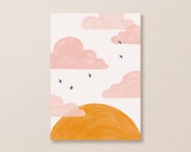 Kaart Zonsondergang