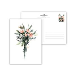 Kaart Flower Bouquet