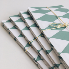 Paper Bags Square Mint