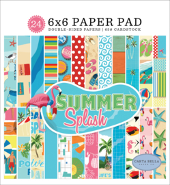 Summer Splash Paper Pad 6x6