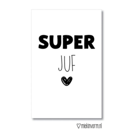 Mini SUPER juf