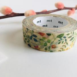 MT ex washi Watercolor Flower