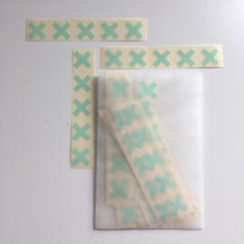 Stickers Cross Mint (5)