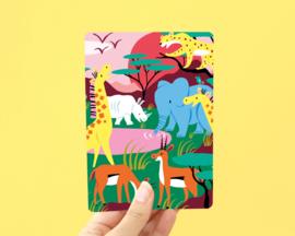 Kaart Safari Jungle