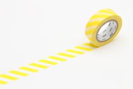 MT washi Stripe Lemon