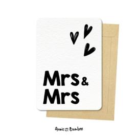 Kaart Mrs & Mrs