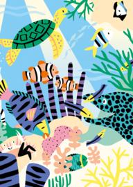 Card Coral Reef