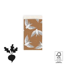 Zakjes S Birds Cognac (5)