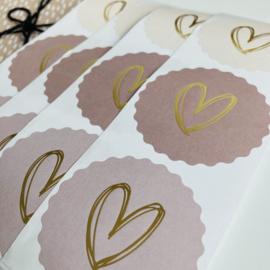 Stickers Harten Soft Pink (3)