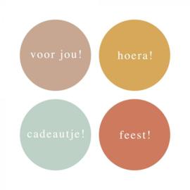 Stickers Mini Kleur (4)