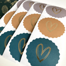 Stickers Harten Pastel  (3)