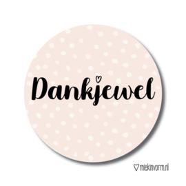 Stickers Dankjewel (5)