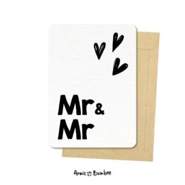 Kaart Mr & Mr
