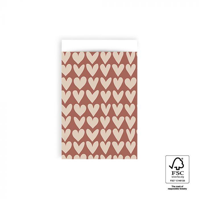 Zakjes Love Red Beige (10)