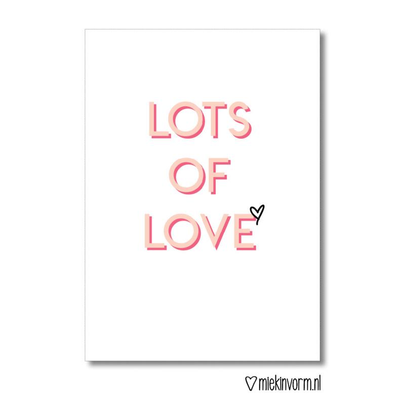 Mini Lots of Love