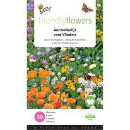 Friendly Flowers voor Vlinders Buzzy