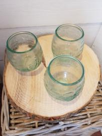 Gerecycled Bolglas Drinkglas