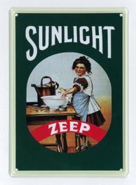 Reclamebord Sunlight Zeep Groen