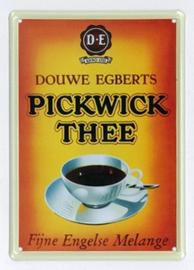 Reclamebord Douwe Egberts / Pickwick