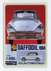 Reclamebord Vintage Daf Daffodil