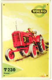Reclamebord Volvo Tractor