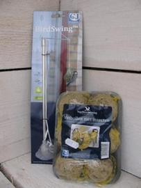 Birdswing pakket met vetbollen