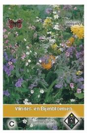 Vlinder - en Bijenbloemen mengsel
