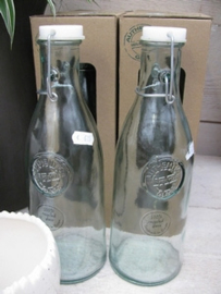 Gerecycled Glas Beugelfles