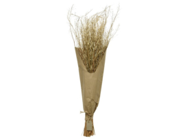 Bundel met gedroogd gras - bruin