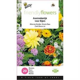 Friendly Flowers aantrekkelijk bloemen voor  Bijen Buzzy