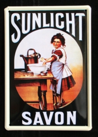 Reclamebord Sunlight Savon
