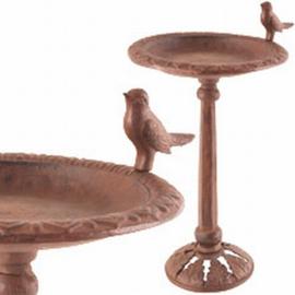 Vogeldrinkschaal Gietijzer Middel