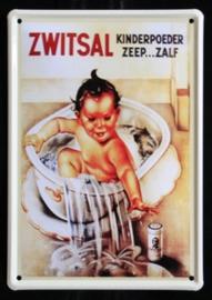Reclamebord Zwitsal Kinderpoeder