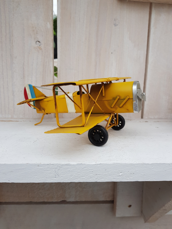 Vliegtuig - geel
