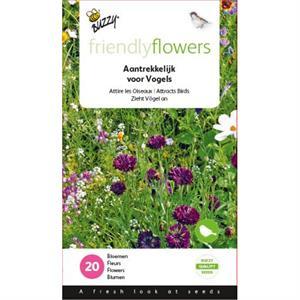 Friendly Flowers Aantrekkelijke Bloemenmengsel  voor Vogels Buzzy