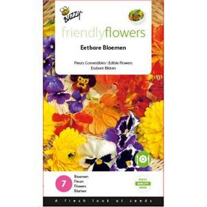 Friendly Flowers eetbare bloemen  Buzzy