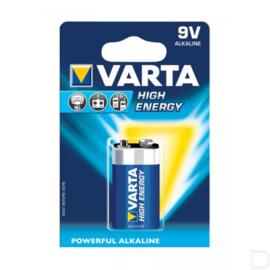 Varta 9 Volt blokbatterij