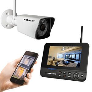 Megasat HS-130 Draadloos videosysteem - 1x bewakingscamera, draadloos