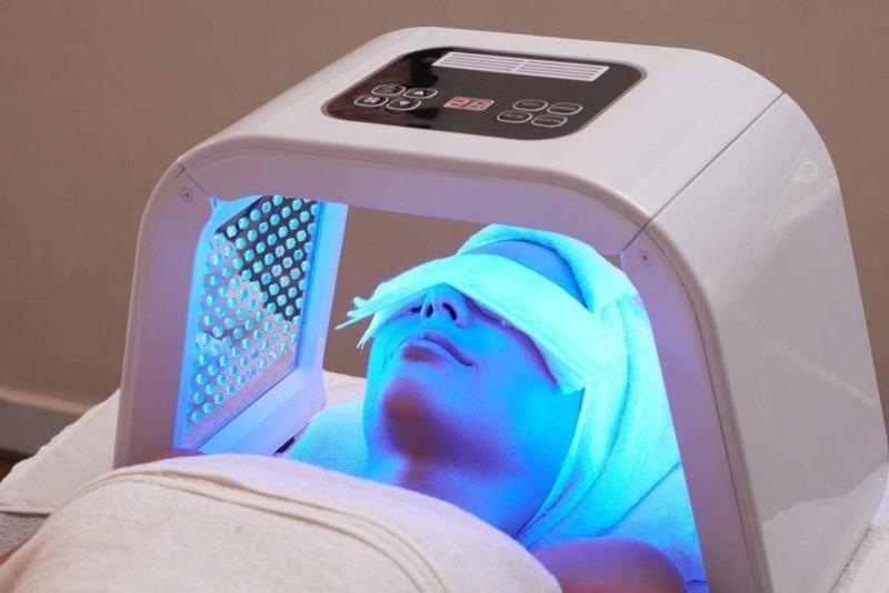 Gelaatsverzorging lichttherapie