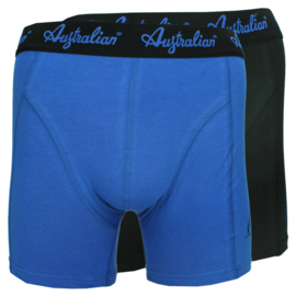 2x Australian Heren Blauw + Zwart