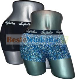 2x Australian Dames  Luipaard Zwart/Wit/Blauw