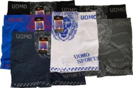 6x UOMO Lion naadloze Herenboxers Voordeelpak