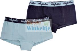 2x Australian Dames  Mintgroen/Zwart