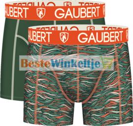 2x Gaubert Heren Boxers Groen
